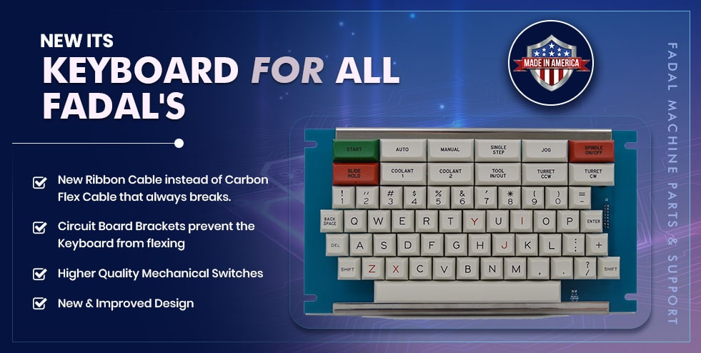 Fadal Keyboards