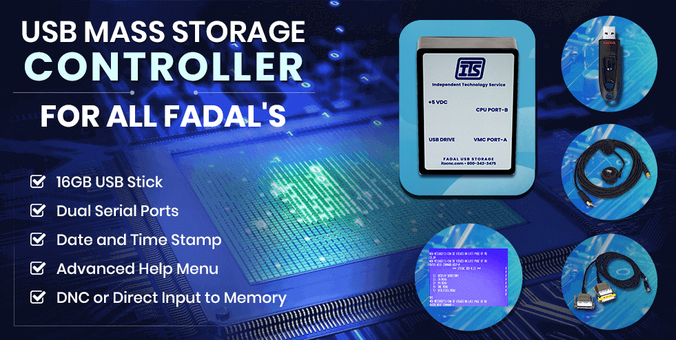 usb mass storage and controler, fadal parts