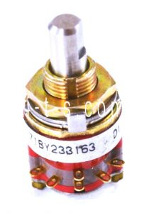 Fadal Rotary Switch, 3 Postion