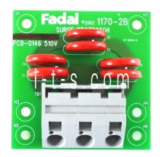 Fadal 510V Surge Suppressor, 1170-2B, New Style, Large Connector